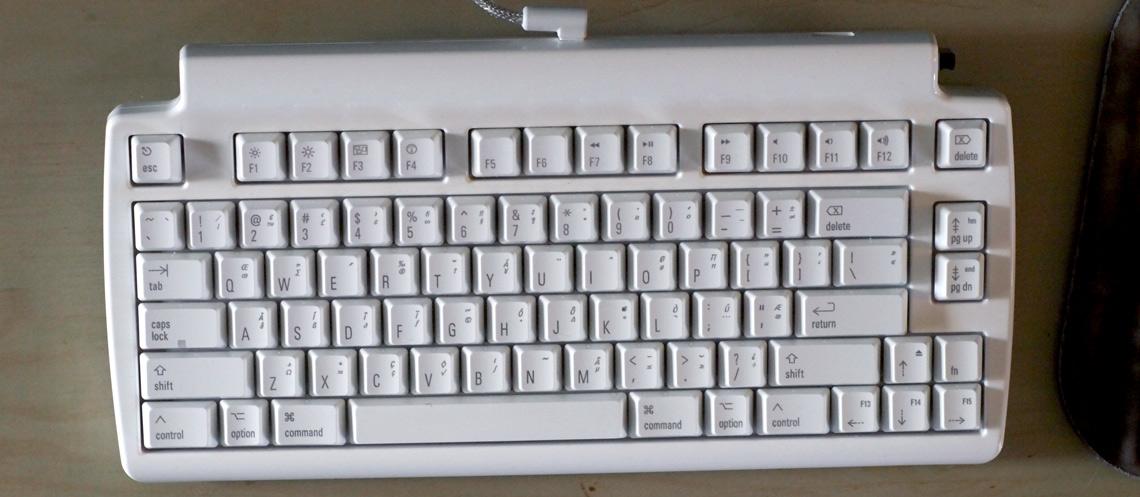 Matias Mini Tactile Pro Mechanical Keyboard for Mac